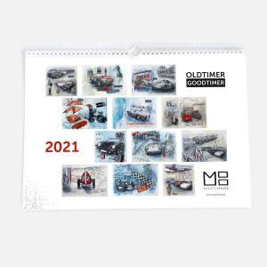 """Kalender 2021 Oldtimer Goodtimer"""